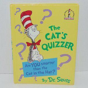 Dr. Seuss The Cat's Quizzer Discontinued Book